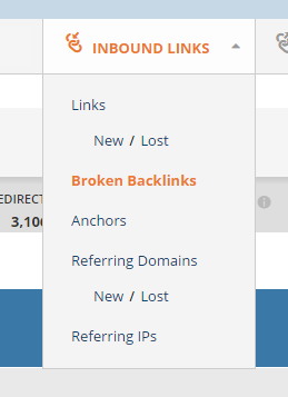 1 broken backlinks